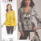 Vogue Sewing Pattern 1110 Misses'/Women's Plus Size 10-32W Princess Seam Long Sleeve Jacket