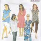 Butterick Sewing Pattern 5763 B5763 Womens Plus Size 18W-24W Easy Maternity Wardrobe Top Dress Pants