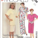 McCall's Sewing Pattern 2536 Misses Size 6-8 Easy Linda Evans Nolan Miller Dress Tunic Skirt