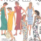 McCall's Sewing Pattern 3061 Misses Size 10-12 Easy Straight Sleeveless Summer Knit Dress
