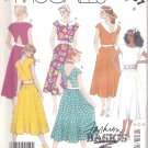 McCall's Sewing Pattern 3137 Misses Size 8 Easy Basic Summer Sleeveless Dresses