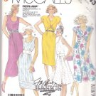 McCall's Sewing Pattern 3143 Misses Size 6-10 Easy Basic Summer Straight Flared Dresses Bolero