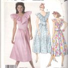 McCall's Sewing Pattern 3157 Misses Size 8 V-Neckline Ruffle Gathered Skirt Dress