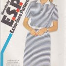 Simplicity Sewing Pattern 5967 Misses Size 6-10 Pullover Knit Polo Shirt Style Dress