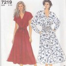 Simplicity Sewing Pattern 7219 Misses Size 8-20 Easy Button Front Flared Skirt Dress