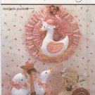 Simplicity Sewing Pattern 7360 346 Marjorie Puckett Goose Geese Wreath Basket Decorations