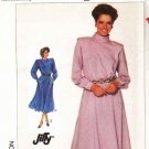 Simplicity Sewing Pattern 7802 Misses Size 10 Pullover Long Sleeve Flared Skirt Dress