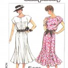 Simplicity Sewing Pattern 8015 Misses Size 6-12 Easy Pullover Sleeveless Flared Gored Skirt Dress