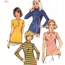 Simplicity Sewing Pattern 5185 Misses Size 12 Knit Pullover Tops Sleeve Collar Options
