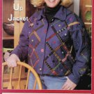 Quilted Closet Sewing Pattern 803 Misses Size 6-24 Long Sleeve Button Front Jacket