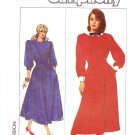 Simplicity Sewing Pattern 8171 Misses Size 8-12 Long Sleeve Flared Skirt Dress