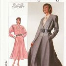 Simplicity Sewing Pattern 8291 Misses Size 6-12 Sung Sport Skirt Jacket Long Sleeve Blouse