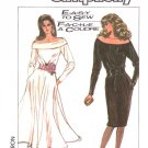 Simplicity Sewing Pattern 8348 Misses Size 8 Easy Off the Shoulder Straight Flared Skirt Dress