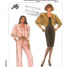 Simplicity Sewing Pattern 8350 Misses Size 6-12 Spaghetti Strap Jumpsuit Dress Bolero Lined Jacket