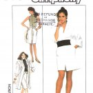 Simplicity Sewing Pattern 8494 Misses Size 6-10 Straight Skirt Coat-Dress Knit Sleeveless Top