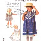 Simplicity Sewing Pattern 8522 Girls Size 6 Gunne Sax Button Front Dress Lace Trimmed