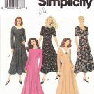 Simplicity Sewing Pattern 8603 Misses Size 6-10 Classic Princess Seam Dress Sleeve Neckline Options