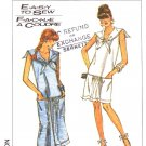 Simplicity Sewing Pattern 8682 Misses Size 6-10 Easy Pullover Knit Summer Dress Sailor Collar