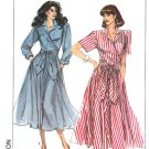 Simplicity Sewing Pattern 9041 Misses Size 6-12 Easy Front Wrap Bodice Flared Skirt Dress