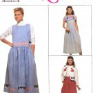 Simplicity Sewing Pattern 9054 Misses Size 6-8 Appliqued Embellished Jumper Skirt Jacket Collar