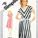 Simplicity Sewing Pattern 9943 Misses Size 10 Jiffy Pullover Knit Dress