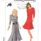 Simplicity Sewing Pattern 8173 Misses Size 14-20 Long Sleeve Princess Seam Flared Skirt Dress