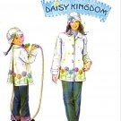 Simplicity Sewing Pattern 5946 Girls 3-8 Misses 6-24 Fleece Button Front Jacket Hat Daisy Kingdom
