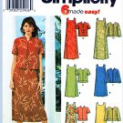Simplicity Sewing Pattern 5959 Misses Size 16-22 Easy Pullover A-Line Dress Jacket Sleeve Options