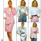 Simplicity Sewing Pattern 8877 Women's Plus Size 22W-26W Wardrobe Blouse Top Skirt Jacket Pants