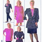 Simplicity Sewing Pattern 8924 Women's Plus Size 24W Wardrobe Pullover Top Skirt Jacket Pants