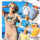 McCall's Sewing Pattern 3146 Misses' Size 10-12 Easy Pullover Knit Appliqued Embellished Tops