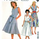 McCall's Sewing Pattern 2028 M2028 Misses' Size 8 Easy Sleeveless Halter Flare Skirt Dress