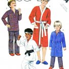 McCall's Sewing Pattern 2054 Boys' Size 14-16 Easy Robe Pajamas Martial Art Karate Uniform