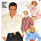 McCall's Sewing Pattern 2071 Misses' Size 18 Shari Belafonte-Harper Button Front Shirts