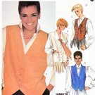 McCall's Sewing Pattern M2096 2096 Misses' Size 8 Shari Belafonte-Harper Button Front Vests