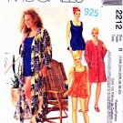 McCall's Sewing Pattern 2212 Women's Plus Size 18W-22W Bathing Suit Panties Cover-Up