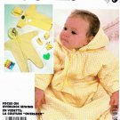 McCall's Sewing Pattern 2219 Infants' Size 14-26# Quilted Bunting Snowsuit Jumpsuit Hat Booties