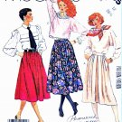 McCall's Sewing Pattern 2265 Misses' Size 12 Gathered Pleated Inset Pocket Opening Skirts