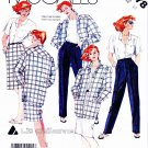 McCall's Sewing Pattern 2378 Misses' Size 14 Liz Claiborne Wardrobe Jacket Shirt Pants Skirt