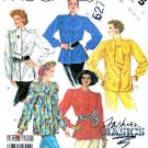 McCall's Sewing Pattern 2875 Misses' Size 12-16 Basics Button Front Long Sleeve Blouse