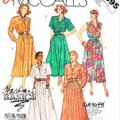 McCall's Sewing Pattern 2895 Misses Size 16-20 Easy Basic Shirt-Waist Button Front Bodice Dress