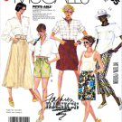 McCall's Sewing Pattern 3055 Misses' Size 14 Easy Basic A-Line Skirt Cropped Capri Pants Shorts