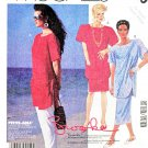 McCall's Sewing Pattern 3120 Misses' Size 6-8 Easy Pullover Top Straight Skirt Pants