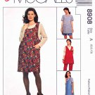 McCall's Sewing Pattern 8908 Maternity Size 6-10 Easy Wardrobe Pullover Top Jumper Pants Shorts