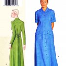 Vogue Sewing Pattern V7936 7396 Misses Size 16-22 Sandra Betzina Button Smap Front Dress