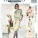 McCalls Sewing Pattern 5284 Misses Size 8-10-12 Easy Sew News Dress Jumpsuit Romper