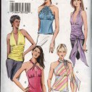 Vogue Sewing Pattern 8081 Misses Size 12-16 Raised Waist Empire Halter Summer Tops