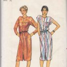 Butterick Sewing Pattern 3051 Misses Size 14-18 Button Front All Season Dress Sleeve Options