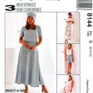 McCall's Sewing Pattern 8144 Misses Size 8-12 Classic Wardrobe Tops Skirt Shorts Pants