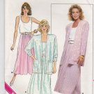 Butterick Sewing Pattern B4752 4752 Misses Size 14-18 Easy Jacket Skirt Tank Top Suit Cardigan